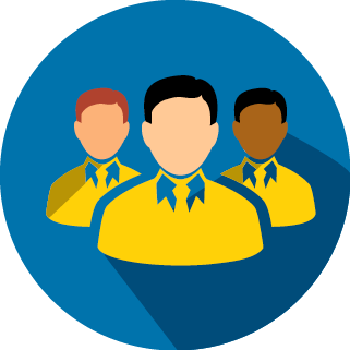 This is an icon for the seo agency Magnetism Agency. It depicts how we build teams around your requirements so you get the best results possible.